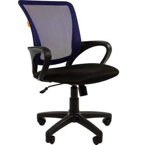 Офисное кресло Chairman 969 TW-05 синий цена и фото