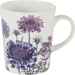 Кружка Anna Lafarg Stechcol Лаура сиреневые цветы (AL-17821-F-M-ST)