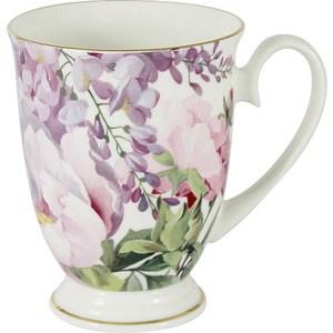 Кружка Anna Lafarg Stechcol Райский сад (AL-17815-B-M-ST) чашка с блюдцем anna lafarg stechcol лаура сиреневые цветы al 17821 f bcs st