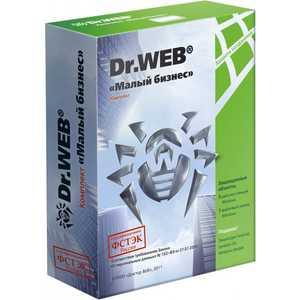 Программное обеспечение Dr.Web ES на 5 ПК (Малый бизнес) + защита 1 файл. серв. почт. ящиков, 12 мес (BBZ-C-12M-5-A3)