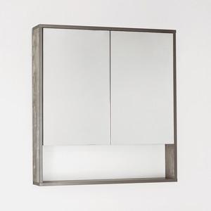 Зеркальный шкаф Style line Экзотик 75 бетон (2000949083742)