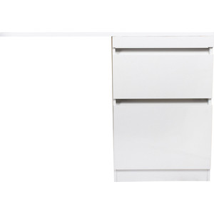 Тумба под раковину Style line Даллас Люкс 58 (120) белая, для стиральной машины (2000949095745)