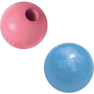 Игрушка KONG Puppy Ball with Hole Small Мячик под лакомства 6см для щенков