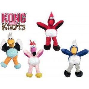 Игрушка KONG WildKnots Birds Small/Medium Dog Дикие птицы 17см с канатом внутри плюш для собак мелких и средних пород
