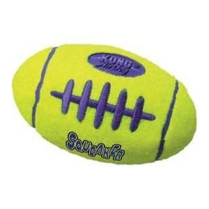 Игрушка KONG Air Squeaker Football Large Регби большая 19см для собак