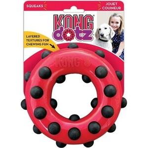 Игрушка KONG Dotz Circle Small Кольцо малое 9см для собак