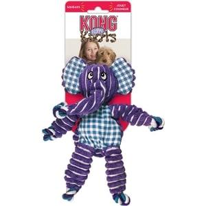 Игрушка KONG Floppy Knots Elephant Medium/Large Dog Слон большой 36х19см для собак средних и крупных пород