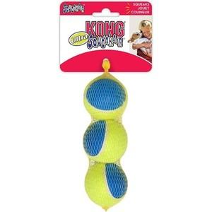 Игрушка KONG Ultra SqueakAir Ball Medium Мячик средний 6см (в упаковке 3шт) для собак