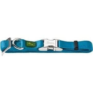 Ошейник Hunter Collar Vario Basic ALU-Strong L/25 (45-65см) нейлон с металлической застежкой бирюзовый для собак