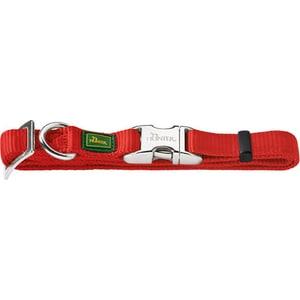 Ошейник Hunter Collar Vario Basic ALU-Strong M/20 (40-55см) нейлон с металлической застежкой красный для собак цена 2017