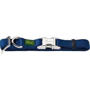 Ошейник Hunter Collar Vario Basic ALU-Strong M/20 (40-55см) нейлон с металлической застежкой темно-синий для собак