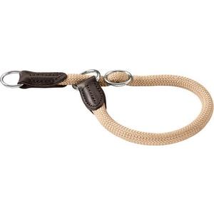 Ошейник-удавка Hunter Collar Training Freestyle 60/10 нейлоновая стропа бежевый для собак