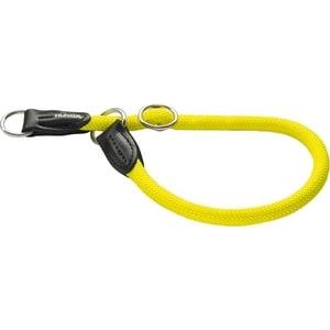 Ошейник-удавка Hunter Collar Training Freestyle Neon 50/10 нейлон желтый неон для собак