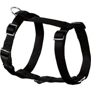 Шлейка Hunter Smart Harness Ecco Sport Rapid L/25 (54-87/59-100 см) нейлон черная для собак