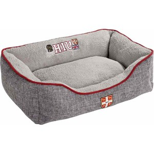 Лежанка Hunter Dog Sofa University S софа серая для собак 40х60x20 см