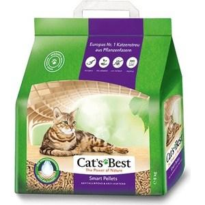 Наполнитель Cats Best Smart Pellets древесный комкующийся для кошек 5кг (10л)