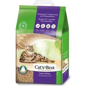 Наполнитель Cats Best Smart Pellets древесный комкующийся для кошек 10кг (20л)