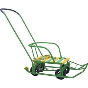 Санки Ника Тимка 5 Универсал Зеленый (00-00001463) ника санки коляска ника тимка премиум малиновый
