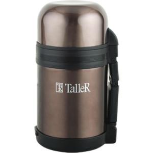 Термос 0.8 л коричневый Taller (TR-2407 коричневый)