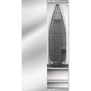 Встроенная гладильная доска Shelf.On Iron Box (Айрон Бокс) купе беленый дуб лево