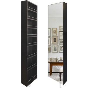 Поворотный зеркальный шкаф Shelf.On Драйв Шелф венге право
