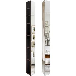 Поворотный зеркальный шкаф Shelf.On Иглу Шелф венге поворотный зеркальный шкаф shelf on зум шелф эко молочный дуб