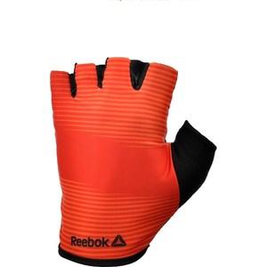 Перчатки для занятия спортом Reebok RAGB-11237RD (без пальцев) красные р. XL