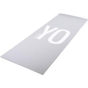 Коврик для йоги Reebok RAYG-11030YG (мат) двухсторонний 4мм YO-GA