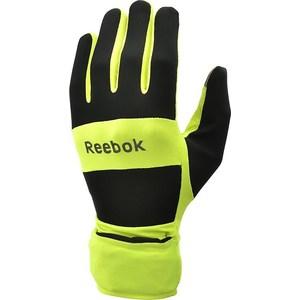 Перчатки для бега Reebok всепогодные RRGL-10134YL р. L тайтсы reebok reebok re160ewqjt70
