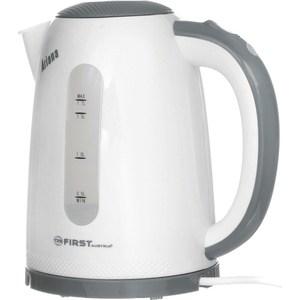 Чайник электрический FIRST FA-5427-2 Grey чайник first fa 5427 7 white green