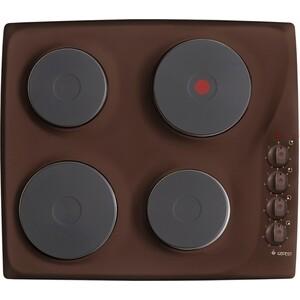 Электрическая варочная панель GEFEST СВН 3210 К17 (коричневый) цена и фото
