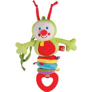 Игрушка-подвеска Happy Baby растяжка Гусеница (330344) игрушка трансформер happy baby гусеница
