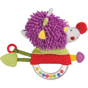 Погремушка с пищалкой Ёж Happy Baby (330356)