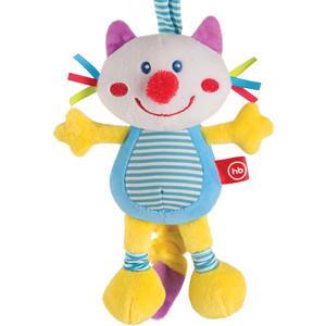 Игрушка-подвеска Happy Baby растяжка с вибрацией Кот (330360) ботильоны foxy up foxy up fo015awmbn68