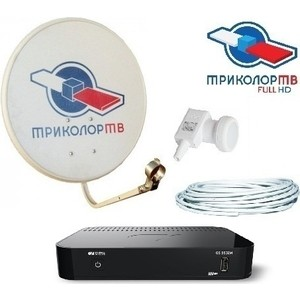 Комплект спутникового ТВ Триколор GS-B532M Full HD Европа антенна для цифрового тв триколор uhd европа с модулем условного доступа