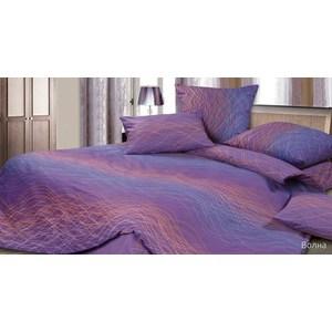 Купить со скидкой Комплект постельного белья Ecotex Семейный, сатин, Волна (4680017861335)