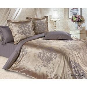 Комплект постельного белья Ecotex 1, 5 сп, сатин-жаккард, Карингтон(КЭ1Карингтон) (4680017866927) кпб ромашки р 1 5 сп