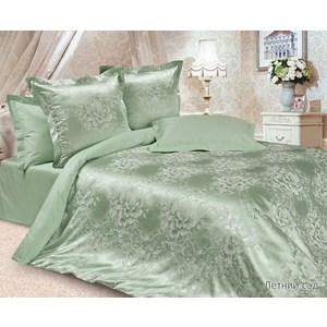 Фото - Комплект постельного белья Ecotex 1, 5 сп, сатин-жаккард, Летний сад(КЭ1Летний сад) (4680017867160) полодовый сад