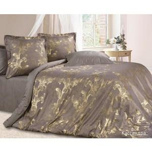 цена Комплект постельного белья Ecotex 2-х сп, сатин-жаккард, Кассандра(КЭМКассандра ) (4670016951069) онлайн в 2017 году