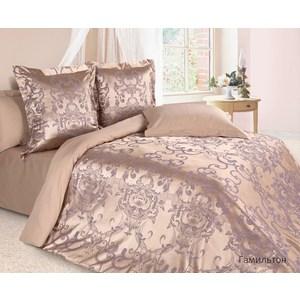 Комплект постельного белья Ecotex Семейный, сатин-жаккард, Гамильтон(КЭДГамильтон) (4650074952031)