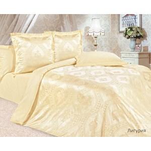 цена Комплект постельного белья Ecotex Семейный, сатин-жаккард, Лигурия(КЭДЛигурия) (4650074951997) онлайн в 2017 году