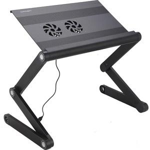 цена на Столик для ноутбука Crown CMLS-100 Black (12-21)