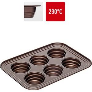 Форма для 6 маффинов 29х21х3.7 см Nadoba Liba (761116)