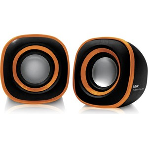 Компьютерные колонки BBK CA-301S черный/оранжевый цена