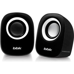 Компьютерные колонки BBK CA-303S черный/белый цена