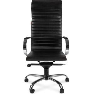 Офисное кресло Chairman 710 экопремиум черный