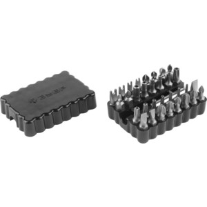 Набор бит Зубр с магнитным адаптером 33 предмета (26046-H33)