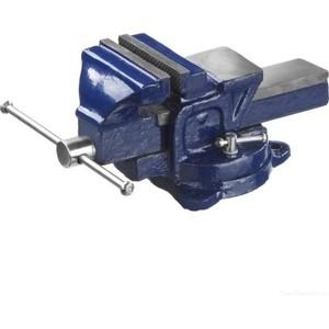 Тиски DEXX слесарные с поворотными механизмом 100мм (32470-100)