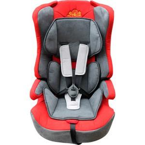 цена на Автокресло Actrum LB-513 (9-36) цвет Grey+Red/velure (серый+красный/велюр)