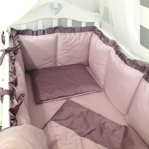 Комплект в кроватку By Twinz 6 пр. Черничный мусс Классика